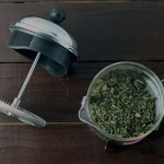She puts herbs in a french press. The end result is AMAZING!