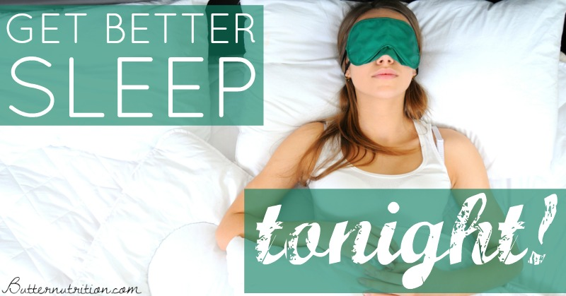 7 Tips to get better sleep TONIGHT (no pills included)