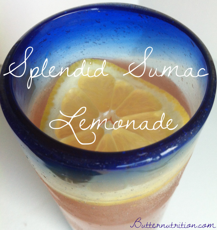 Splendid Sumac Lemonade | Butter Nutrition