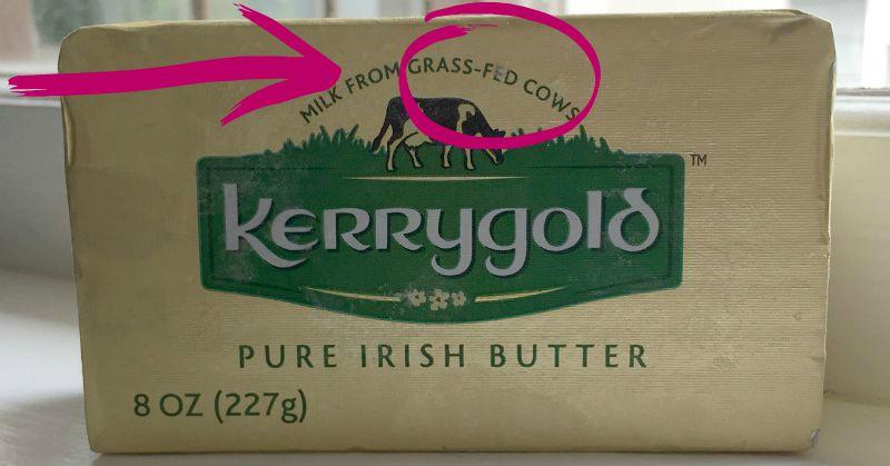 grass fed butter kg circled