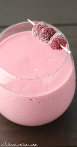 Raspberry Protein Shake