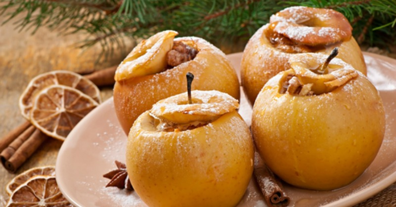 Baked Apples Butter Nutrition
