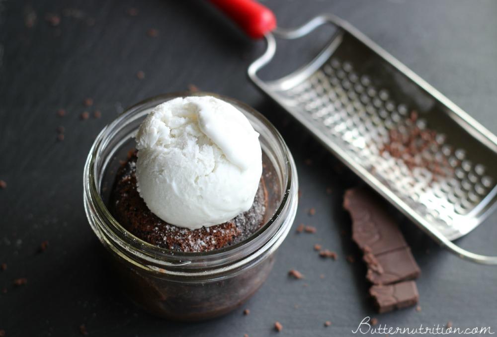 Chocolate Lava Cake (gluten free) | Butter Nutrition