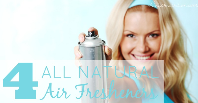 4 All Natural Air Fresheners | Butter Nutrition