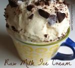 Raw Milk Ice Cream | Butter Nutrition