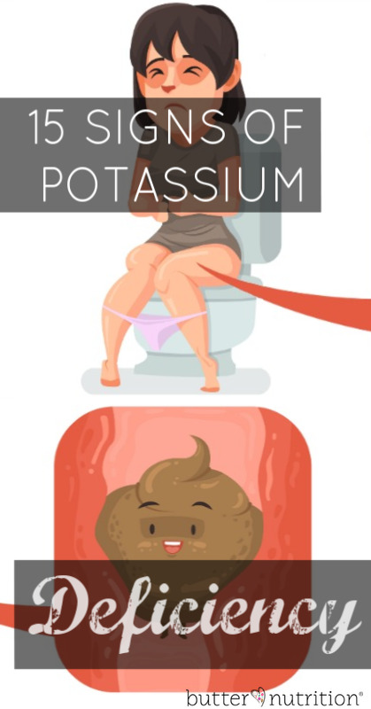 15 Signs of Potassium Deficiency (hint: these look a lot like low thyroid symptoms...) | Butter Nutrition