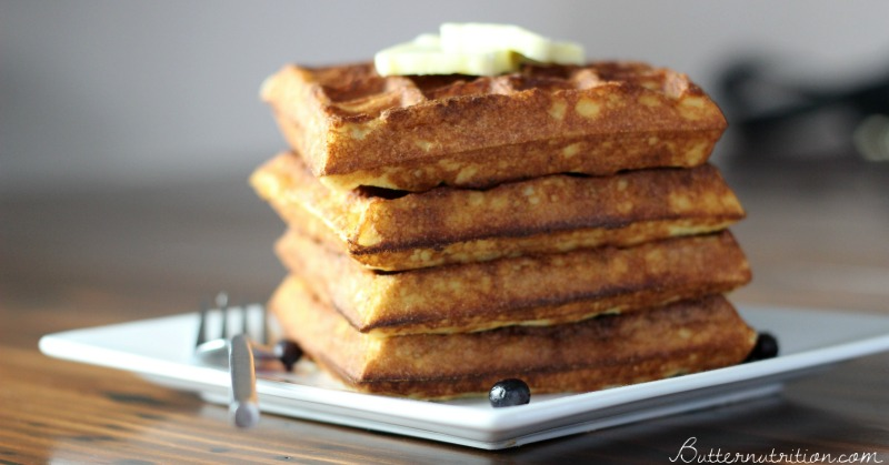 Protein Packed Gluten Free Waffles | Butter Nutrition