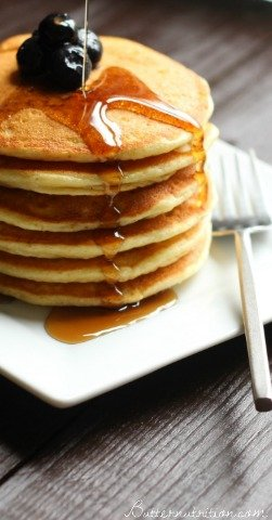 High Protein Gluten Free Pancakes | Butter Nutrition