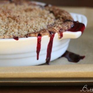Gluten Free Blackberry Crisp   Butter Nutrition
