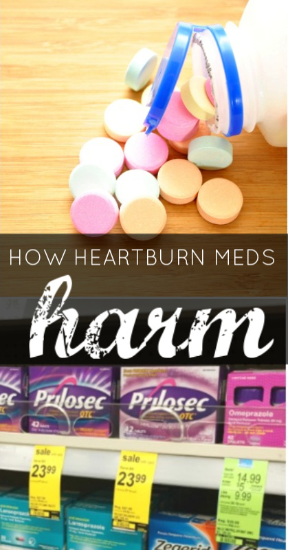 How Heartburn Meds Harm | Butter Nutrition