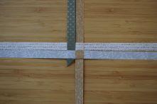Schritt 13: Die erste Zacke ist gebildet. Jetzt wird das Gebilde um 90 Grad im Uhrzeigersinn gedreht.