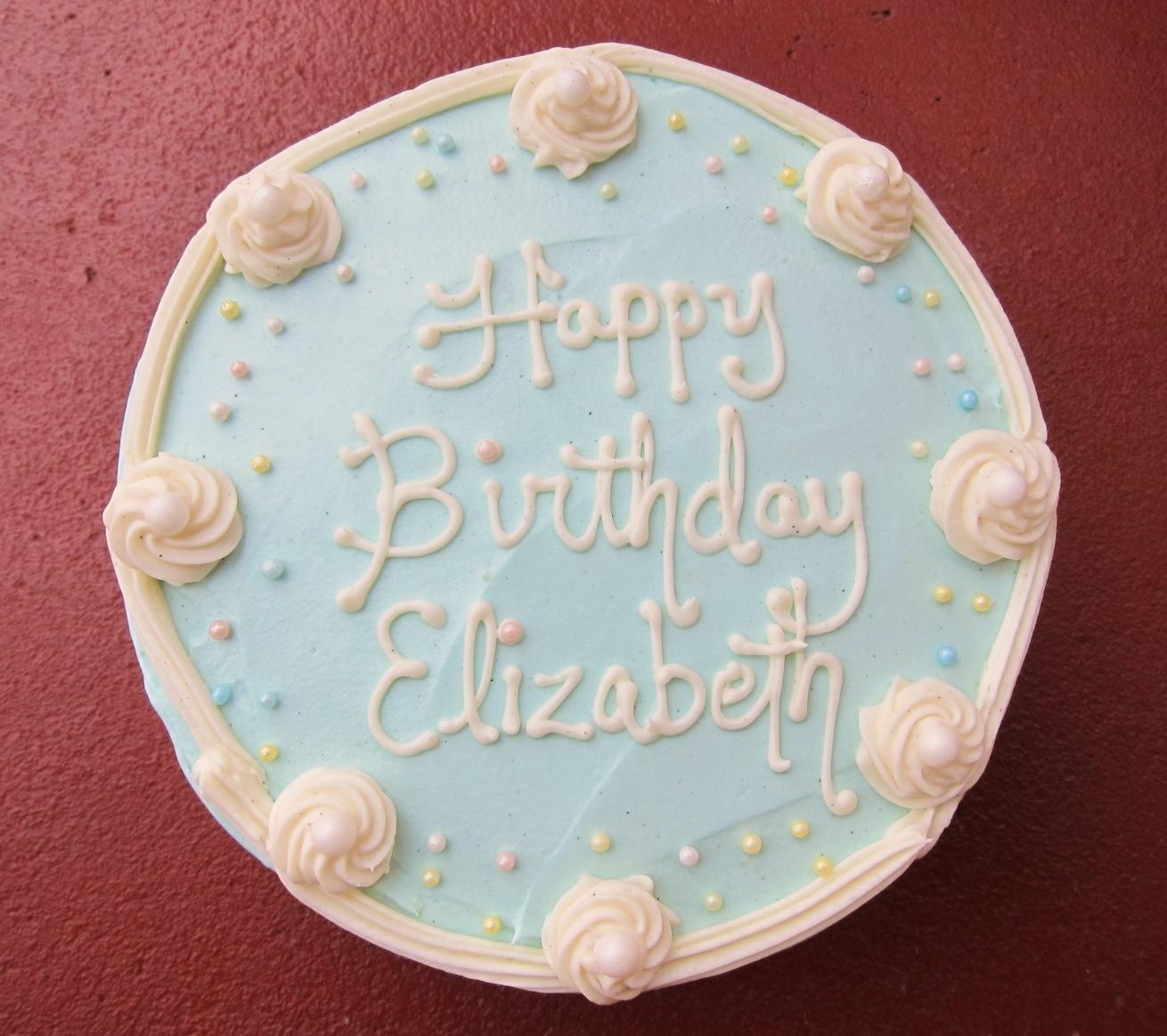 Elizabeth S Birthday Cake 2012 1 Butter Sugar Flowers