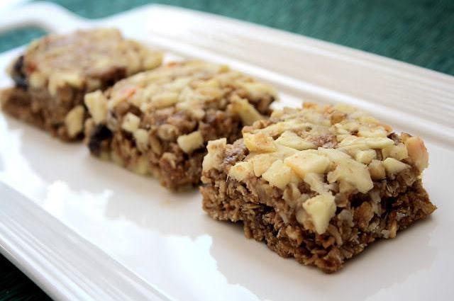 Utah Deal Diva- No Bake Apple Bars Healthy Snack, Breakfast Ideas