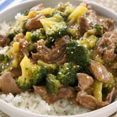 EASY BEEF & BROCCOLI