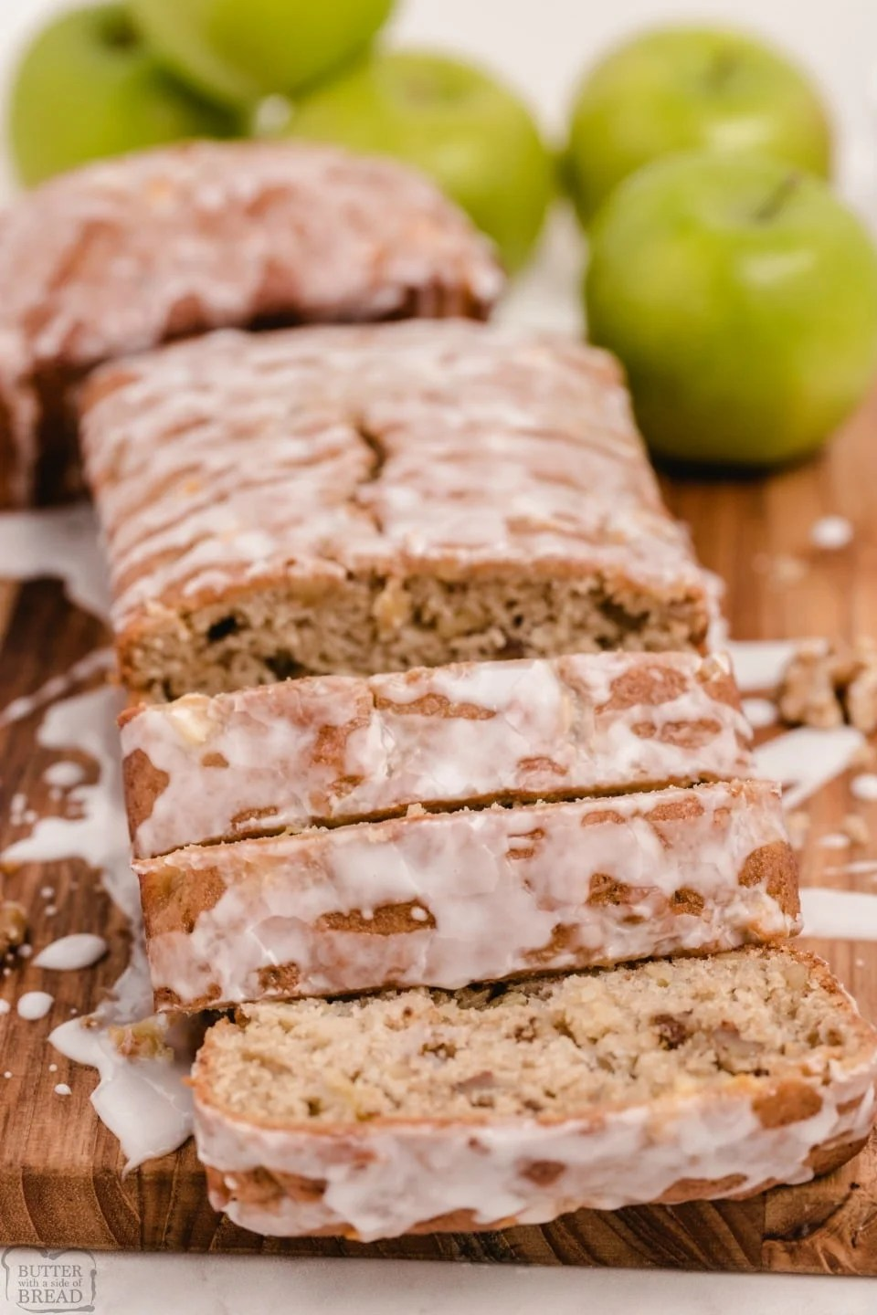Easy Apple Cinnamon Walnut Bread recipe