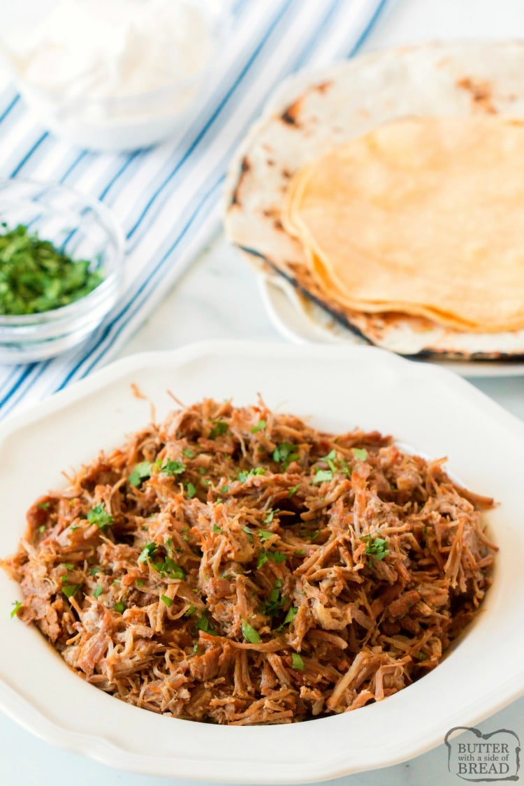 how to serve pork carnitas