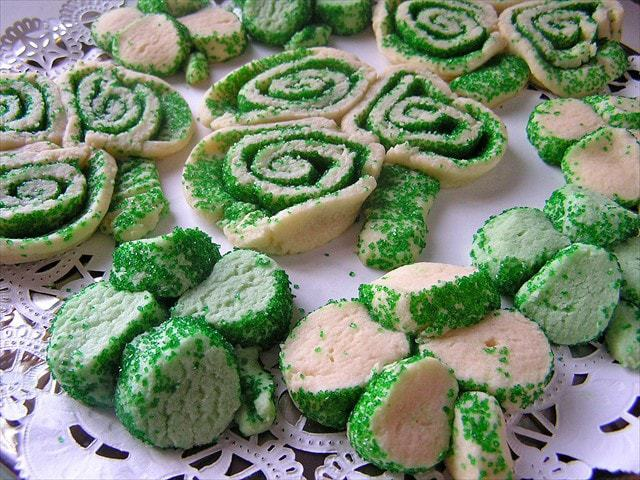 St. Patrick's Day Cookies are the perfect, easy way to celebrate St. Patty's Day with your family! The soft sugar cookie dough shaped into shamrocks are such a fun and festive way to have a fun day!
