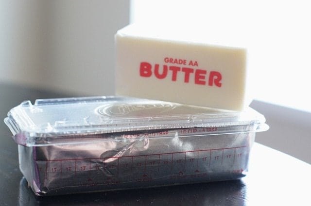 Butter with a side of Bread butter vs crisco