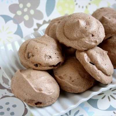 CHOCOLATE ANDES MINT MERINGUE COOKIES