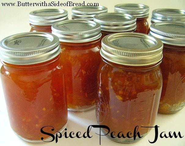 With peach season in full swing here in Utah, I wanted to share thiswonderful recipe for Spiced Peach Jam. It's actually my husband's grandmother's recipe that I recently got permission from her to share with you all. Thanks Nana!