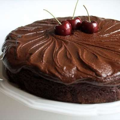 LION HOUSE CHERRY CHOCOLATE CAKE