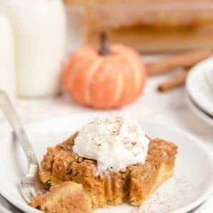 Easy Pumpkin Pie Cake recipe