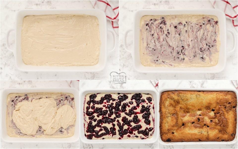how to make Spiced Cranberry Coffee Cake Recipe