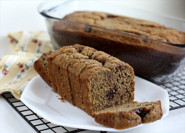 Raspberry Banana Bread: Butter with a Side of Bread