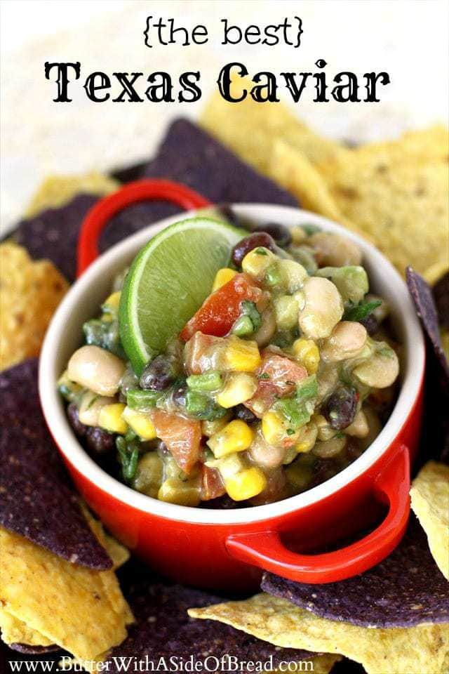 Texas caviar is one of those healthy dips that combines flavors and textures for a great experience with every bite. This is the best Texas caviar and it's truly a knock-out recipe that everyone should try.