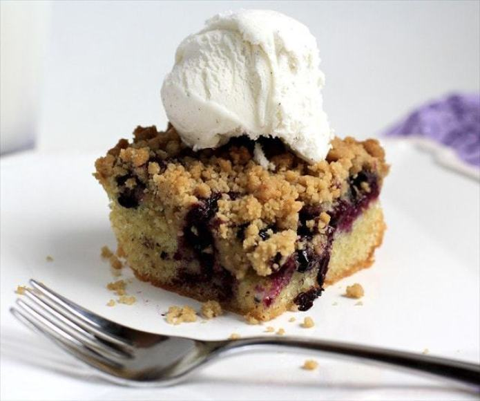 Blueberry Crumb Bars : Butter with a Side of Bread
