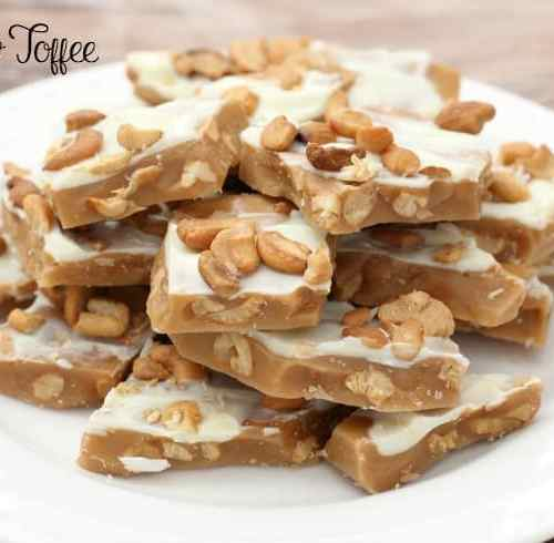 CASHEW TOFFEE - Butter with a Side of Bread