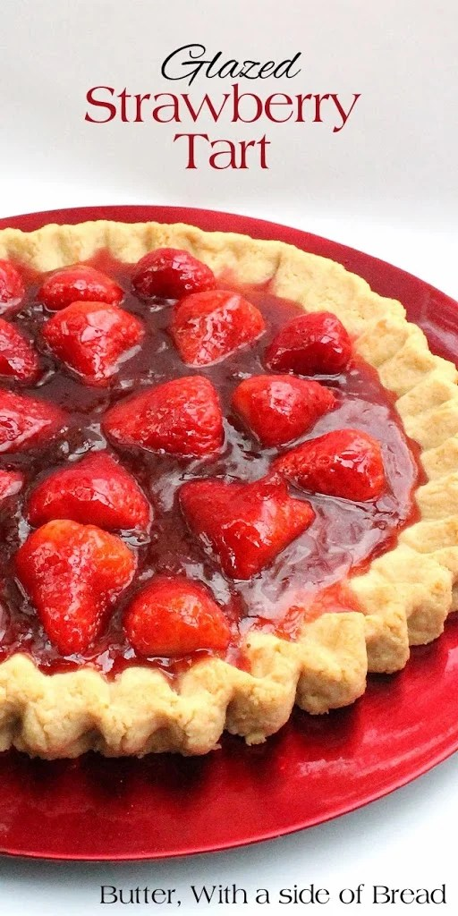 This Glazed Strawberry Tart is a rare treat that everyone will enjoy!