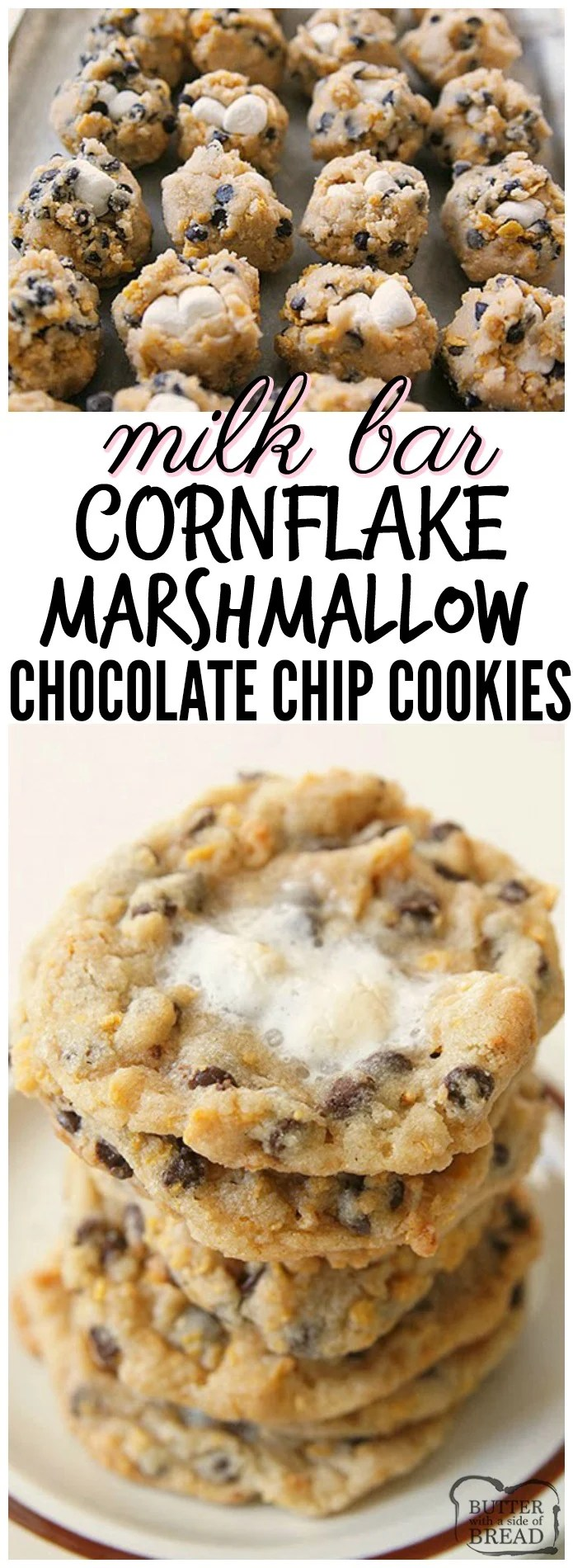 Milk Bar Cornflake Marshmallow Cookies Just Like The Ones Served In Momofuku NYC