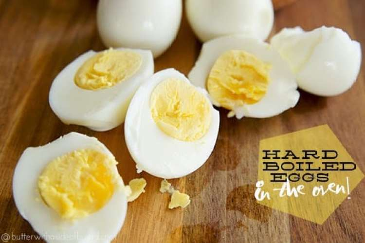 How to boil eggs in the oven