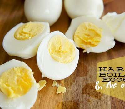 HARD BOILED EGGS… IN THE OVEN!