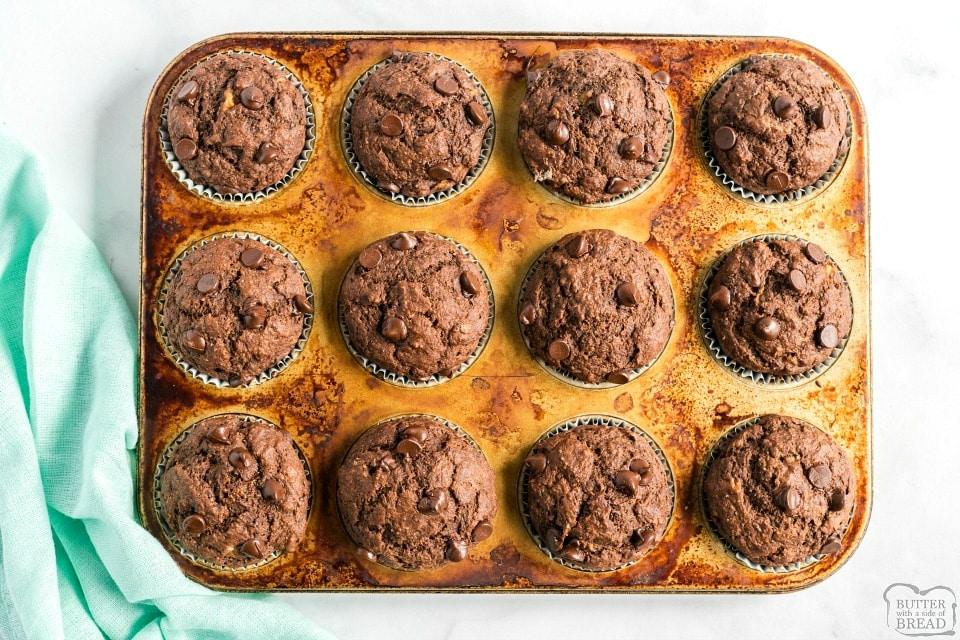 Low calorie Chocolate Fudge Muffins recipe