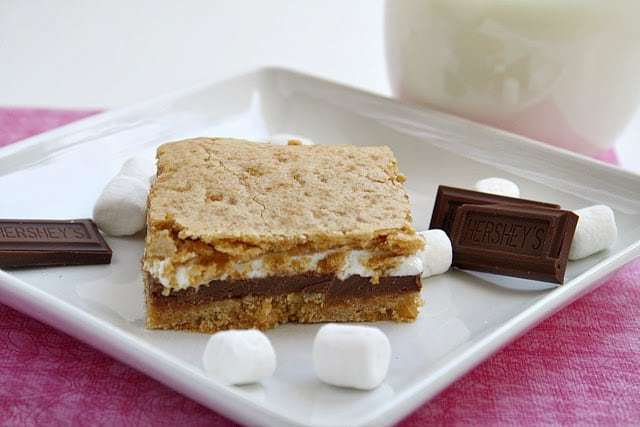 Butter With a Side of Bread: Baked S'mores Bars