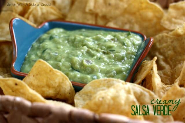 CREAMY SALSA VERDE: Butter With A Side of Bread