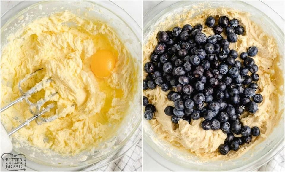 How to make Blueberry Pound Cake recipe