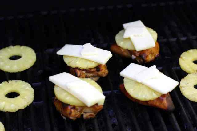 CHEESY GRILLED PINEAPPLE CHICKEN: Butter With A Side of Bread