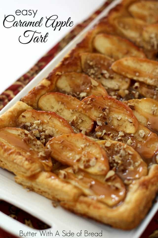 EASY CARAMEL APPLE TART: Butter With A Side of Bread