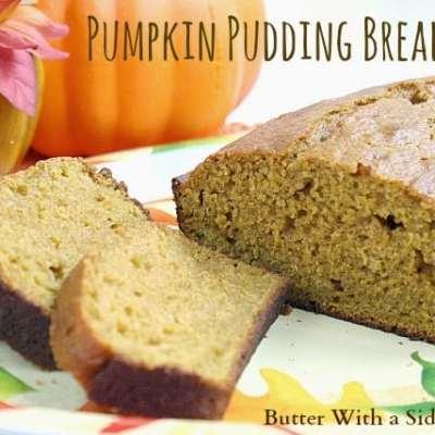 PUMPKIN PUDDING BREAD