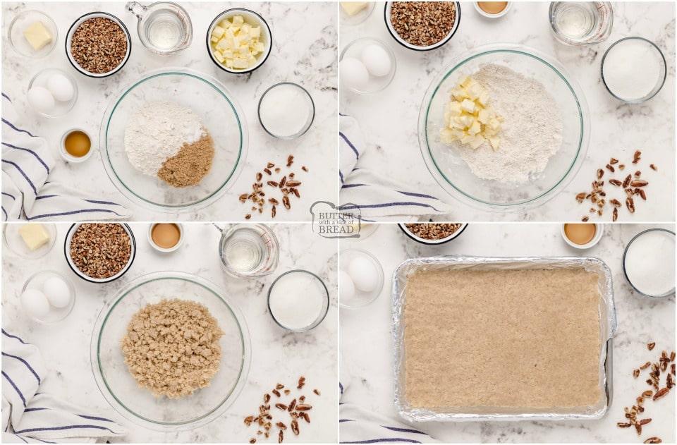 how to make Best Pecan Pie Bars recipe