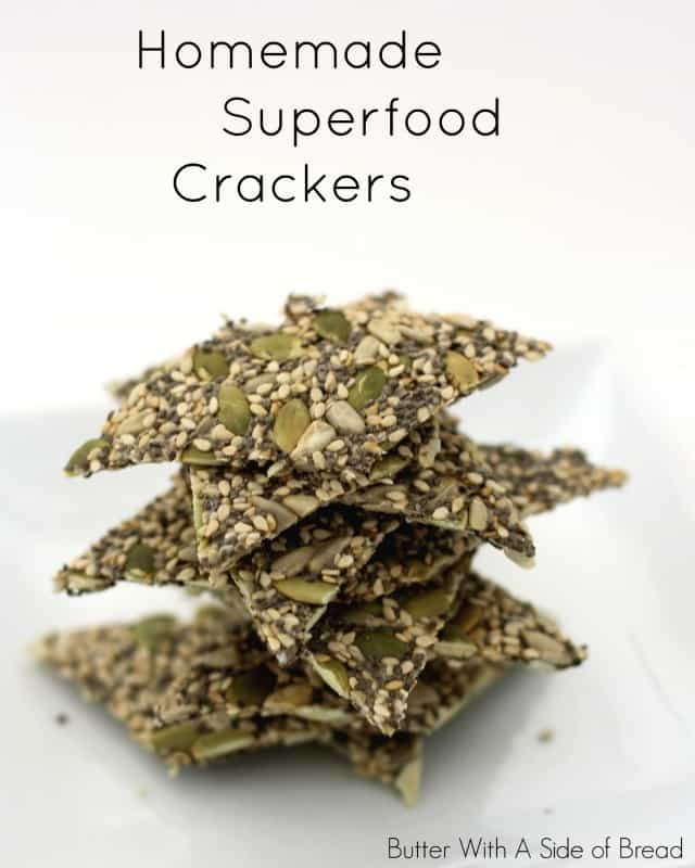HOMEMADE SUPERFOOD CRACKERS