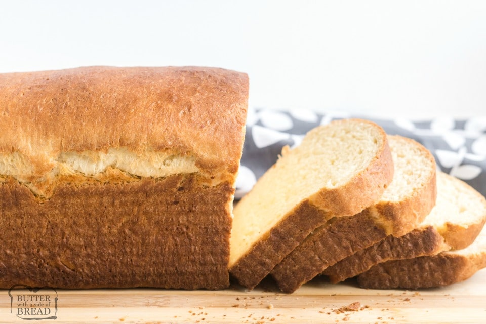 Potato Bread made with mashed potatoes, butter, milk, flour, eggs, and yeast. Potato Bread recipe is a family favorite that's easy to make & has a fantastic homestyle flavor!