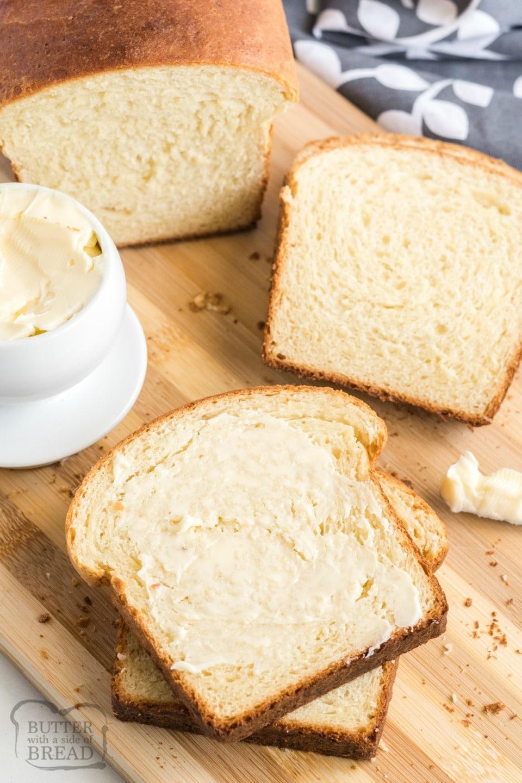 Soft and Buttery Potato Bread recipe