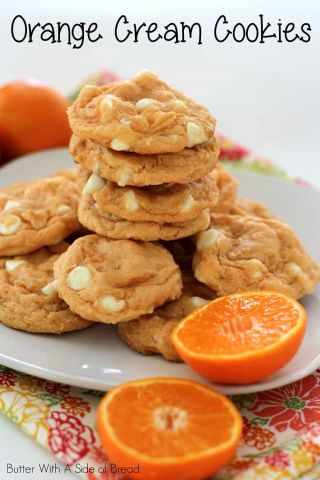 Orange Cream Cookies are everything good about your basic soft, delicious cookie dough, with the addition of a refreshing and incredible orange flavor!