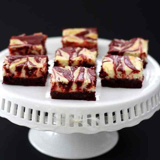 RED VELVET CHEESECAKE BROWNIES: Butter With A Side of Bread