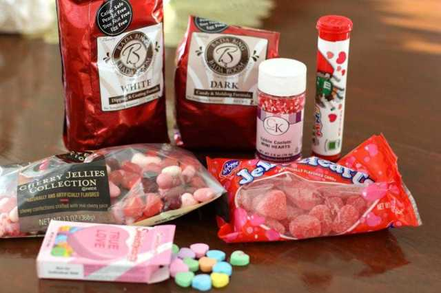 VALENTINE CANDY BARK: Butter With A Side of Bread