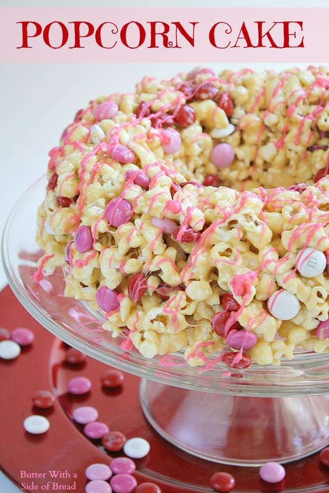 Butter With a Side of Bread: Popcorn Cake